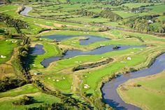 Celtic Manor 2010 course; the course used in the 2010 #RyderCup.