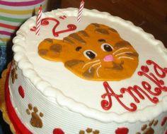 Daniel Tiger cake idea