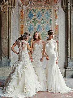 Sareh Nouri Bridal Fall 2014 Wedding Dresses #wedding #bridal #wedding