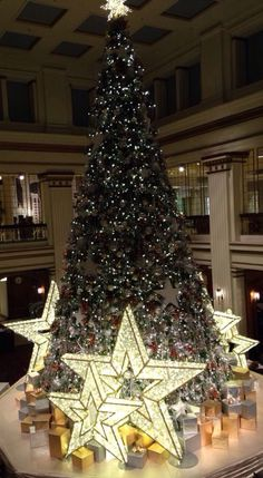 #Christmas Tree #Macy's #Chicago this is beautiful to see in person!!