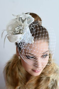 LUXURYday / Fascinátor I. Fascinators, Ale, Crown, Luxury, Handmade, Jewelry, Fashion, Hair, Headpieces
