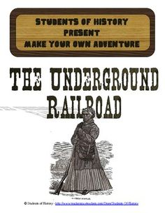 This fantastic, interactive story brings your students into history! In this reading, students assume the role of a slave in 1852 who is given a chance to runaway with Harriet Tubman along the Underground Railroad. However, they can choose to stay or go and the story changes based off of the choices they make throughout the story. A fantastic way to teach students about how the Underground Railroad worked and the dangers escaped slaves faced.