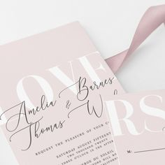 How to Word Your Wedding Invitations (Plus 12 Wedding Invitation Wording Example. How to Word Your Wedding Invitations (Plus 12 Wedding Invitation Wording Examples to Make Your Own! Pink Wedding Invitations, Letterpress Wedding Invitations, Wedding Stationary, Rose Gold Invites, Birthday Invitations, Wedding Pins, Wedding Cards, Diy Wedding, Wedding Ideas