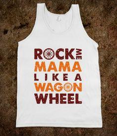 Rock Me Mama In Blacksburg Tank  #ForkandCork