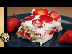 - YouTube Greek Desserts, Strawberry Desserts, Tiramisu, Raspberry, Cheesecake, Muffin, Baking, Fruit, Breakfast