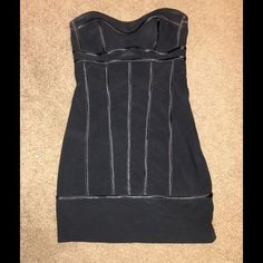 Jessica McClintock strapless dress Leather detail, wire/corset built in on breast and upper stomach area Jessica McClintock Dresses Strapless
