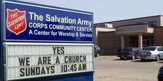 Hahahahaaha probably the most used phrase of a Salvationist to a non-Salvationist
