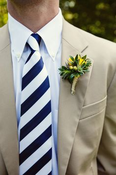 nautical wedding tie