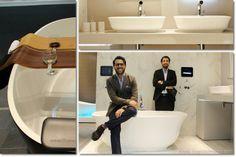 vasca Amiata - Meneghello Paolelli Associati | 10 cose che ricorderò del Salone del bagno 2014 (+1) - #Milano #DesignWeek #SaloneBagno