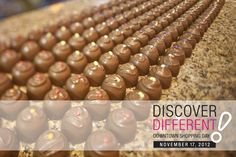Come to Forrat's for FREE samples of delicious, handmade chocolates Novmeber Handmade Chocolates, Shopping Day, Free Samples, Food, Essen, Yemek, Meals
