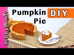 how to: mini pumpkin pie