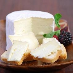 Nettle Meadow Kunik Petite - Gourmet Food World   A a triple cream goat cheese from the Adirondaks that we love to pair with chilled white wine.