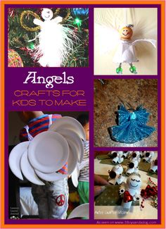 Angel Crafts for Kids to Make