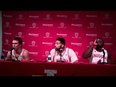 Jordan Hulls, Christian Watford and Victor Oladipo Post-Game - Kentucky Game. I might watch this too often...
