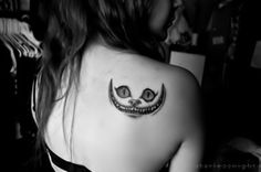 Alice in Wonderland tattoo -- WANT WANT WANT!!! Thanks Lyssa!!! ^.^ !!!!