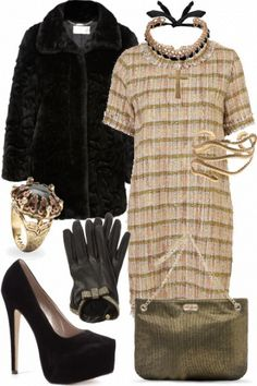 Very Anna Wintour! #style #fashion #outfit
