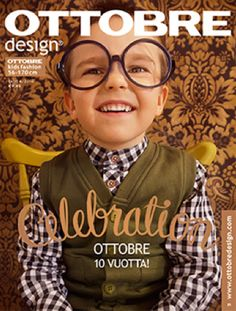 Ottobre Design - Winter - 6/2010  sewing patterns for boy's and girl's clothes