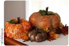 love the button pumpkin