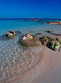 Spiaggia di Liscia RUJA Costa Smeralda Sardegna Italy