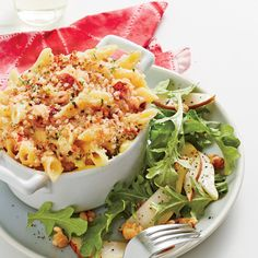 Lobster Mac and Cheese | Coastalliving.com