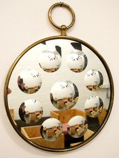 Fancy - Piero Fornasetti Convex Mirror