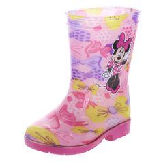 Girls Minnie Bow Rain Boot | Payless ShoeSource
