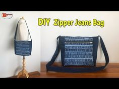 Please click the link for tutorial Bag Sewing, Sewing Clothes, Free Sewing, Old Jeans Recycle, Denim Tote Bags, Denim Purse, Diy Sac, Denim Crafts, Sewing Tutorials
