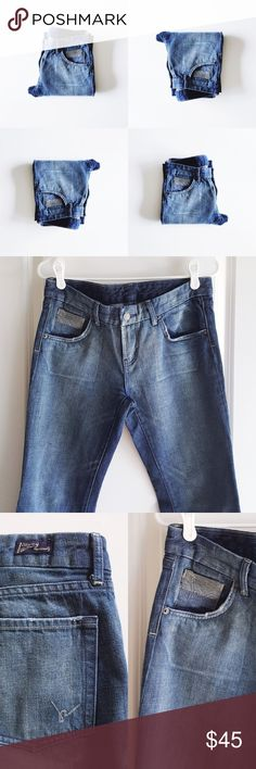 """Citizens of Humanity Coin Pocket Monaco Jeans COH Coin pocket jean in Monaco in EUC.  🚫Will not model🚫 📏Waist- 15"""" 📏Rise- 8"""" 📏Inseam- 31.5"""" 📏Outseam- 39"""" 👖100% Cotton 👖 Style# 034-038 Cut# 1477 💚 Every listing purchased enters you in for a monthly gift card giveaway. Citizens of Humanity Jeans Flare & Wide Leg"""