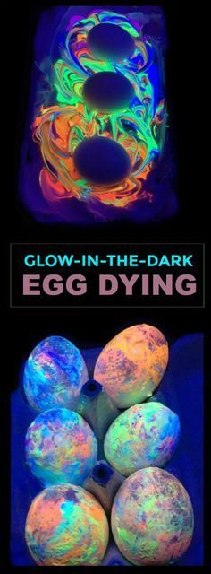 GLOW-IN-THE-DARK EGG DYING- what? My kids are going to flip!!