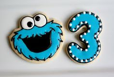 Cookies with Character - Cookie Monster