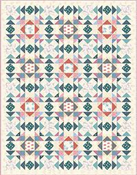 Little House on the Prairie - Laura's Quilt. Free pattern download!