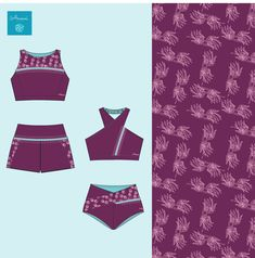 2 styles from our upcoming collection in our abstract palm & dark berry color. Please visit our website to find out more! Recycled Fabric, Wakeboarding, Kayaking, Berry, Eco Friendly, How To Find Out, Palm, Surfing, Website