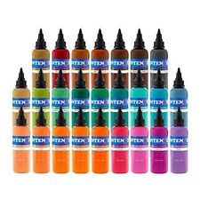 Intenze Tattoo Ink Set 7 Best Selling Primary Colors 12 oz *** Be sure to check out this awesome product. Moms Tattoo Ink, Best Tattoo Ink, Oz Tattoo, Tattoo Ink Sets, Tattoo Kits, Tattoo Ideas, Eternal Tattoo Ink, Tattoo Supply, Tattoo Argentina