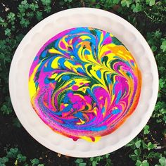 These Psychedelic Cakes Are Raw, Vegan, and Custom-Designed to Represent Your Aura 21st Birthday, Birthday Cake, Cakes Sydney, Different Cakes, Raw Desserts, Cute Cakes, Raw Vegan, No Bake Cake, Cake Designs