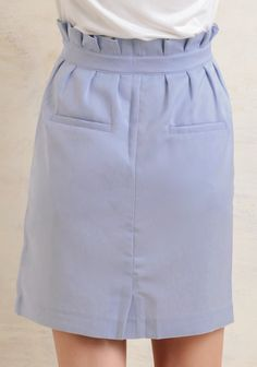 Under Clear Skies Pleated Skirt