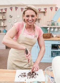 Meet the Bake Off contestant without a soggy bottom: Lithuanian body builder Ugne Bubnaityte from Essex | via Daily Mail