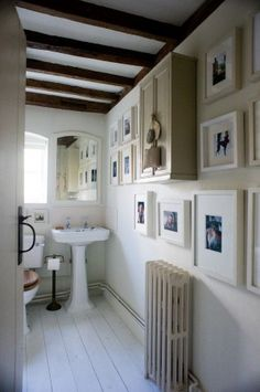 Ideas for hanging images.