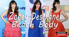 What do you know about Zooey Deschanel beach body