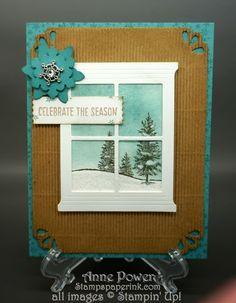 Stamps, Paper, Ink Create!: Happy Scenes Bundle Card 2 Snow!