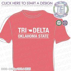 Delta Delta Delta | Tri Delt | ΔΔΔ | PR t-shirt | Sisterhood | PR Tee | Custom Sorority Apparel | TGI Greek | Greek Apparel | Custom Apparel | Sorority Tee Shirts | Sorority T-shirts