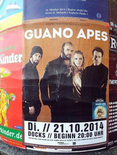#Litfaßsäule #Poster #Plakat #Guano Apes