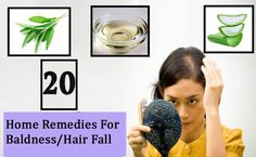 #HomeRemedies For Treating #Baldness or #HairFall #Naturally At Home