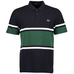 Our classic polo shirt in cotton piqué, with a bold sports stripe design. Inspired by sports stripes in team colors, our polo shirt has a proper Polo Shirt Colors, Striped Polo Shirt, Color Stripes, Stripes Design, Fred Perry T Shirt, Lacoste, Sportswear, Casual Outfits, Shirts