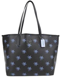 da7af61a2 Coach Bnwt City Tote Star Blue Black New Shoulder Bag. Get one of the  hottest