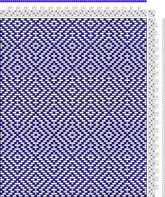 Hand Weaving Draft: Page 132, Figure 6, Donat, Franz Large Book of Textile Patterns, 3S, 3T - Handweaving.net Hand Weaving and Draft Archive...