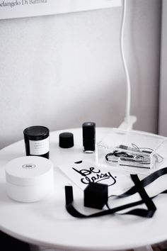 Via The Super Ordinary | Black and White Styling