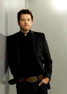 In priest clothing
