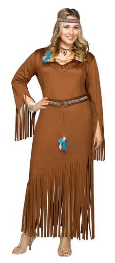 Women's Plus Size Indian Summer Native American Costume