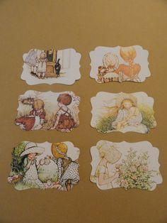 Etichette deluxe autentico libro-frammento di Holly di Scrollbeads