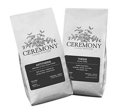 Ceremony Coffee Roasters  House Coffees Variety Pack  Specialty Whole Bean or Ground Coffee 2x12oz Bags Whole Bean *** See this great product by click affiliate link Amazon.com